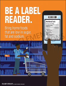 Be A Label Reader Poster