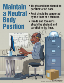 Maintain Neutral Position Poster