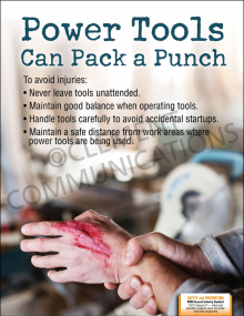 Power Tools-Punch Poster