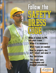 Safety Dress Code Poster