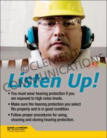 Listen Up! Poster