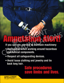 Amputation Alert! Poster