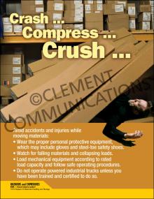 Crash Compress Crush Poster