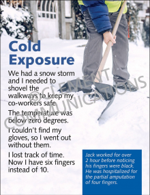Cold Exposure Poster