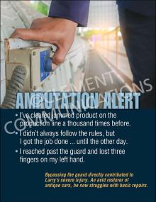 Amputation Alert