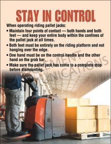 Stay in Control Poster