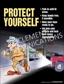 Personal Security-Protect Yourself Poster