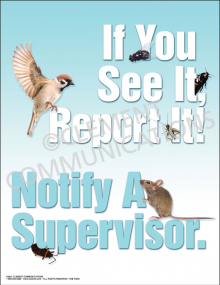 If You See It, Report It Poster