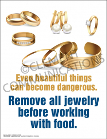 Remove All Jewelry Poster