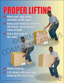 Proper Lifting Poster