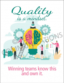 Quality is a Mindset