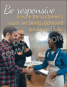 Be Responsive Poster