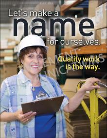 Make a Name Poster