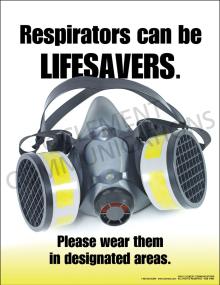 Respiratory Protection - Lifesavers Poster