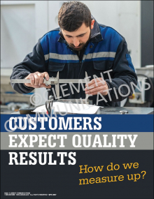 Customers Expect Poster