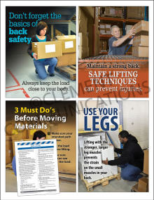 Ergonomics Focus Pack 5: Safe Lifting