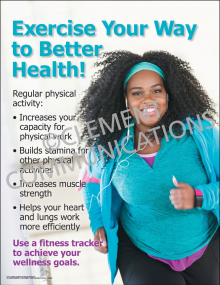 Exercise Your Way to Better Health Poster
