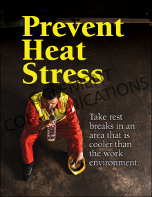 Prevent Heat Stress Poster