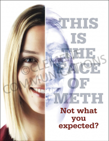 Face of Meth Poster