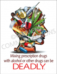 Mixing Prescription Drugs Poster