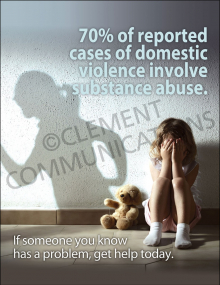 Domestic Violence-Substance Abuse Poster