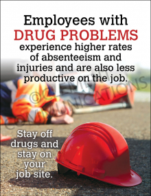 Employees With Drug Problems Poster