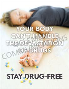 Devastation of Drugs Poster