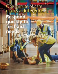 One Minute Of Care Makes A Difference Poster