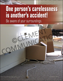 Be Aware of Your Surroundings Poster