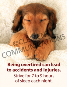 Being Overtired Poster