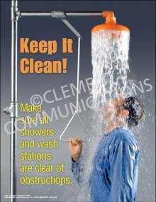 Chemical Safety - Keep It Clean Poster