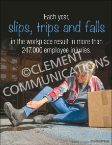 STF - Employee Injuries Poster