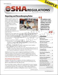 Inside OSHA Regulations™ Newsletter - Electronic