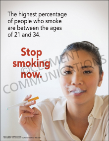 Stop Smoking Now Poster