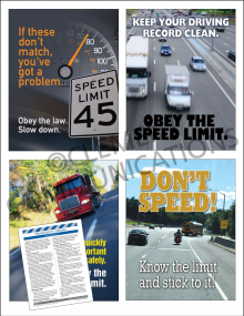Driving Safety Focus Pack 6: Speeding