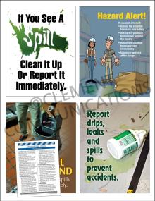 Housekeeping Focus Pack 2: Spills