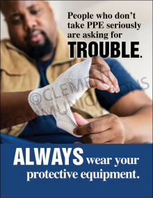 Take PPE Seriously Poster