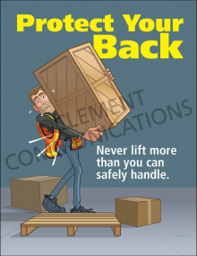 Protect Your Back Poster