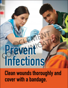 Prevent Infections Poster