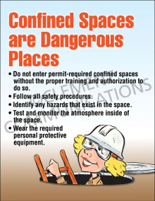 Confined Spaces Poster