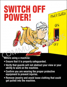 Switch Off Power Poster
