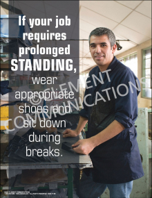 Ergonomics - Prolonged Standing Poster