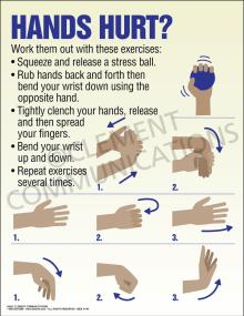 Hands Hurt Poster