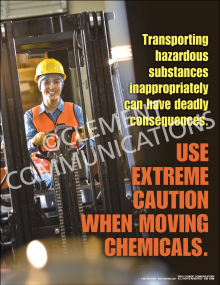 Moving Chemicals Poster
