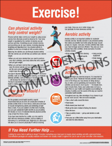Health and Wellness - Exercise Poster