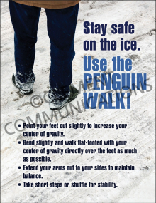 Winter Hazards - Penguin Walk - Poster