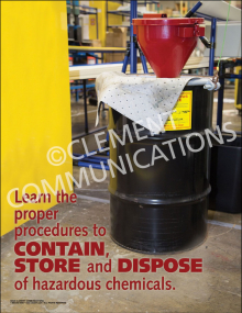 Contain, Store and Dispose Poster