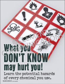 What You Don't Know May Hurt You Poster