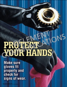 Protect Your Hands Poster