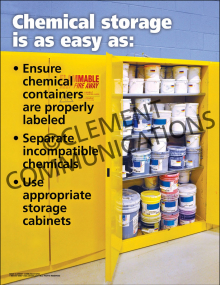 Chemical Storage Poster